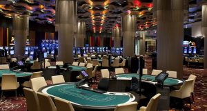 interior of the casino